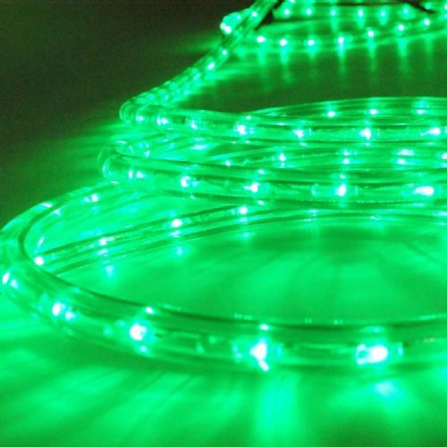 Cut to Length Outdoor & Indoor LED Rope Light Green